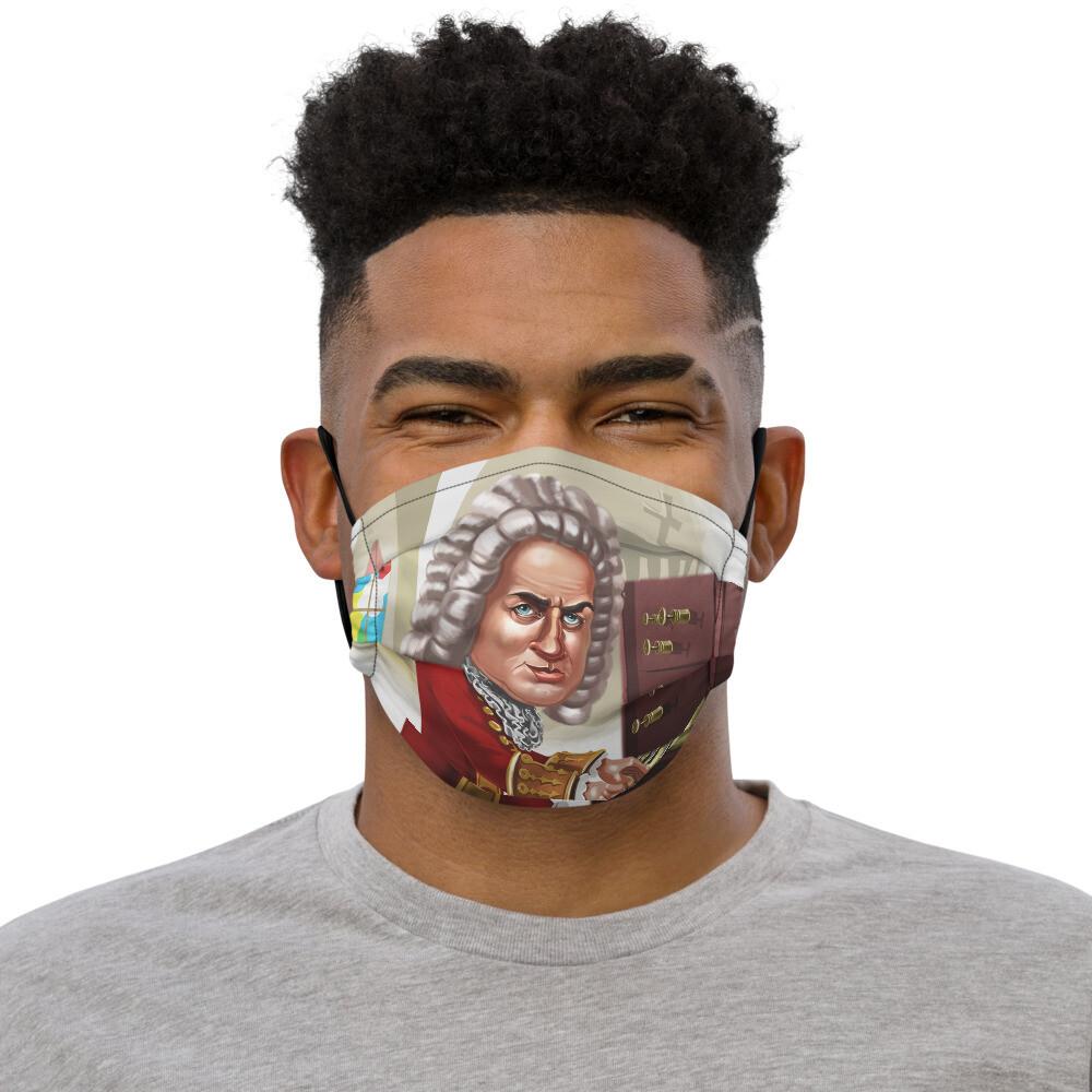 Johann Sebastian Bach Premium face mask