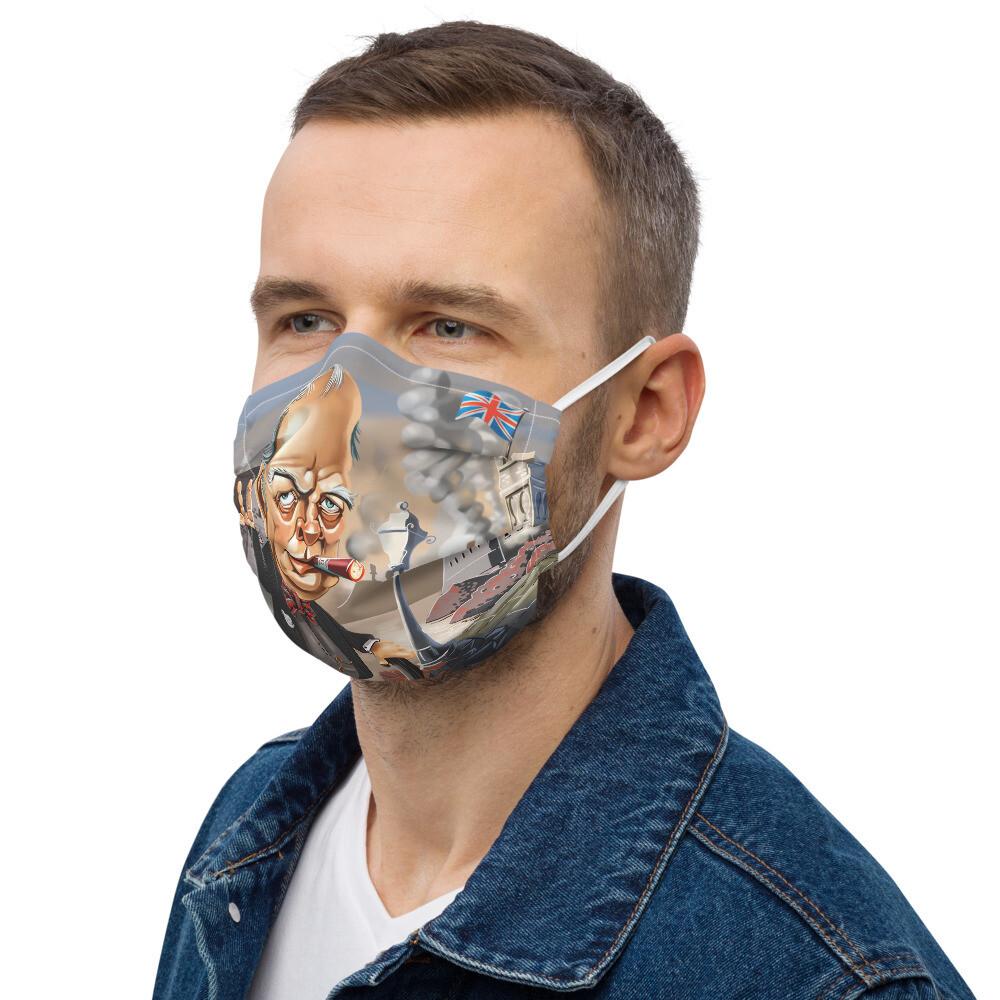 Winston Churchill Premium face mask