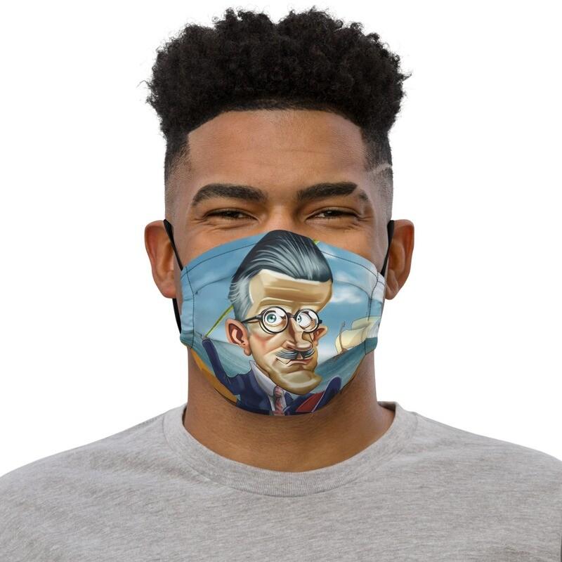 James Joyce Premium face mask