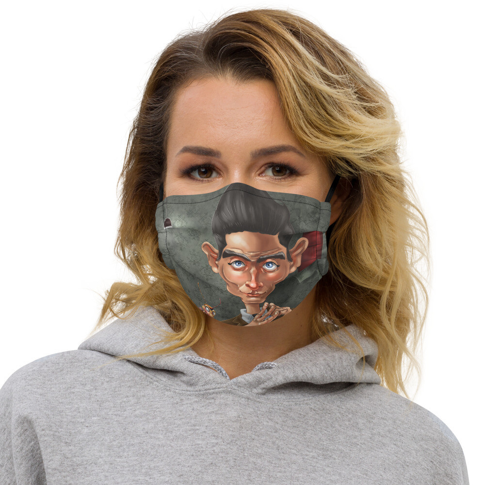 Franz Kafka Premium face mask