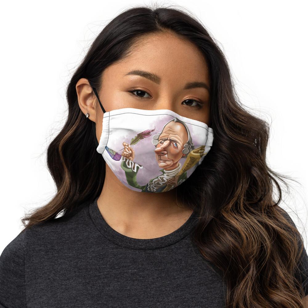 Leonhard Euler Premium face mask