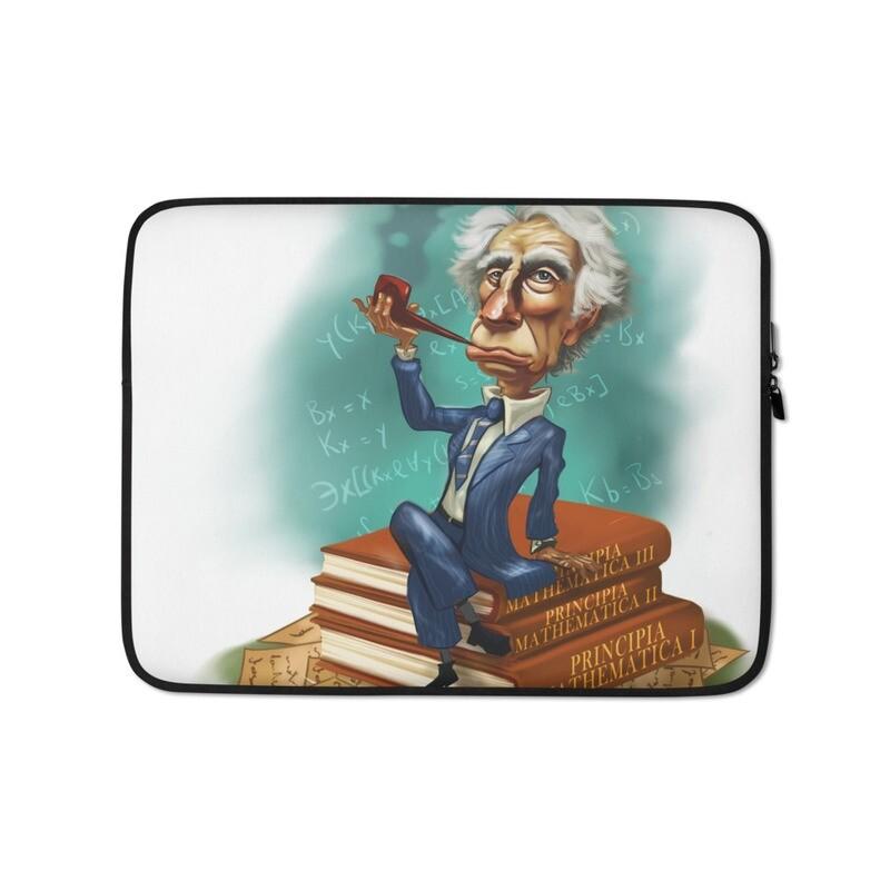 Bertrand Russell Laptop Sleeve