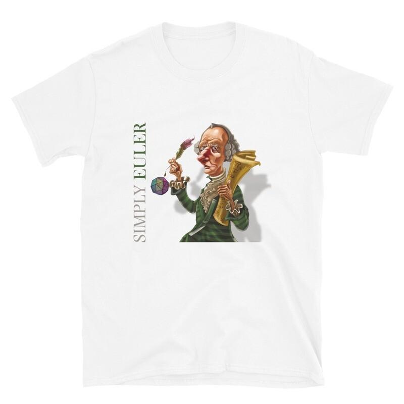 Simply Euler Short-Sleeve Unisex T-Shirt