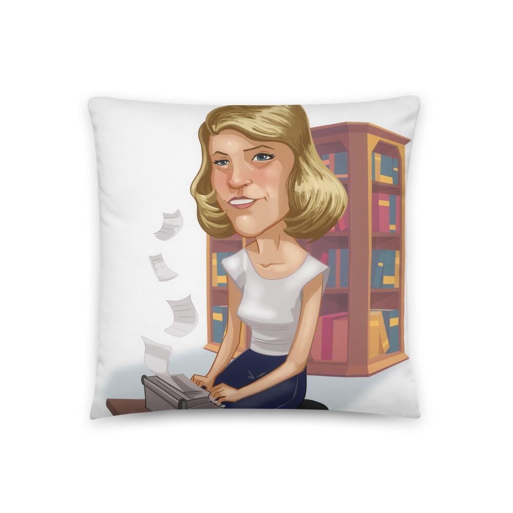 Sylvia Plath Basic Pillow