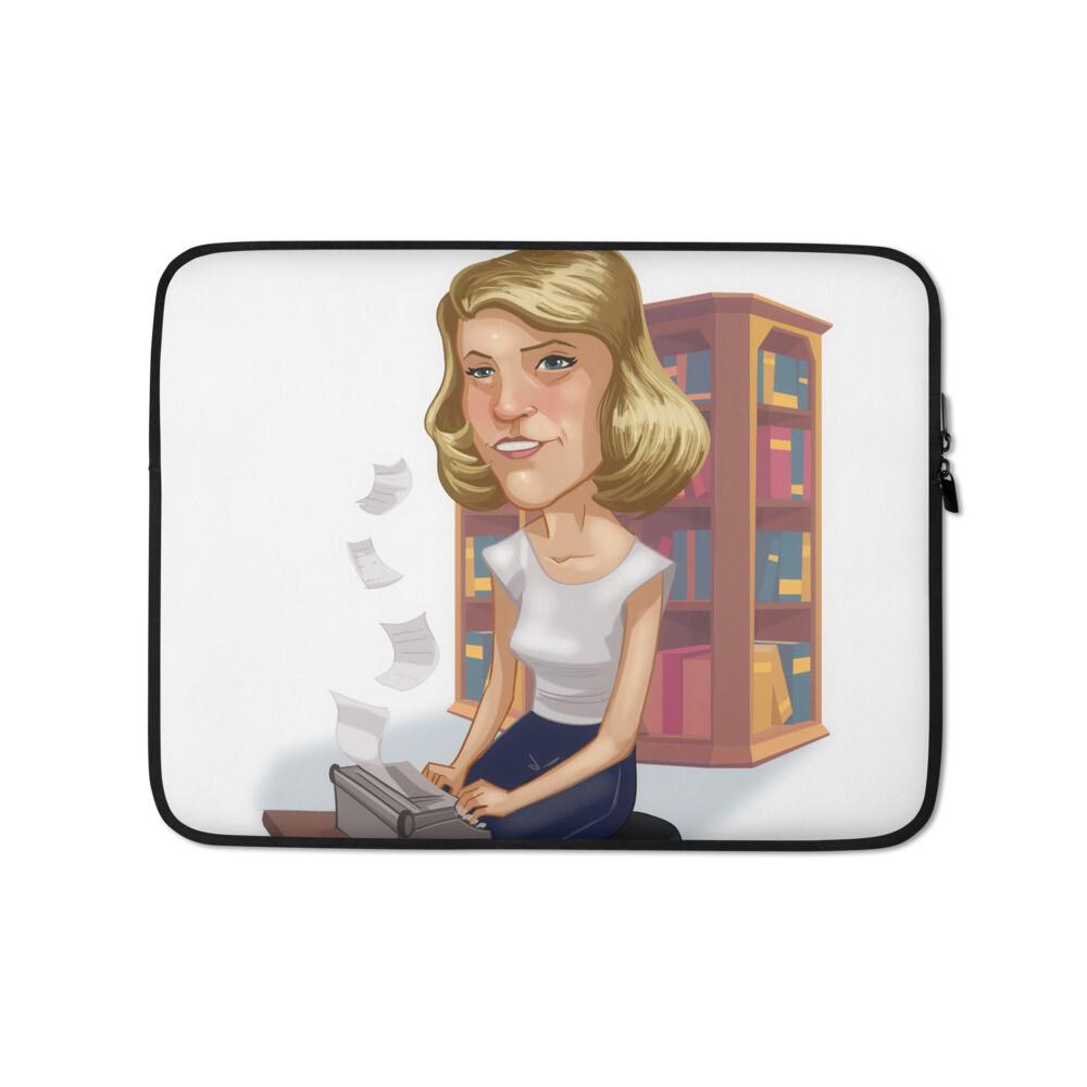 Sylvia Plath Laptop Sleeve
