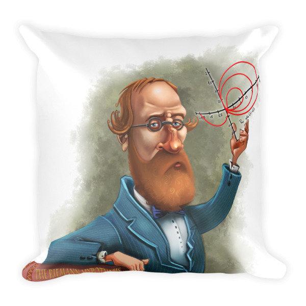 Bernhard Riemann Square Pillow