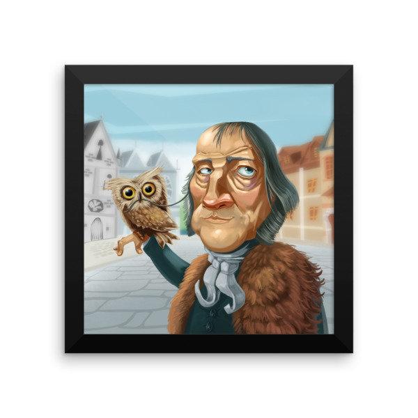 Georg Hegel Framed poster