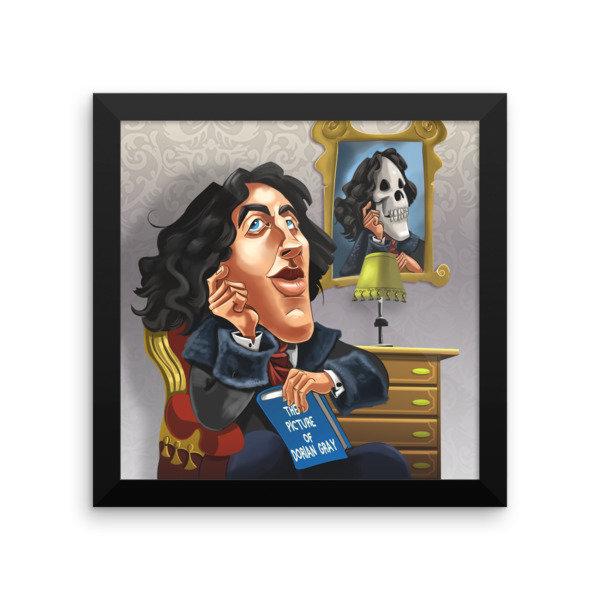 Oscar Wilde Framed poster