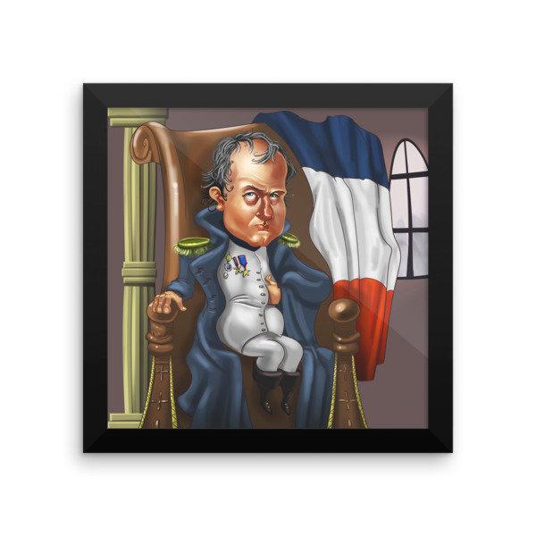 Napoleon Bonaparte Framed poster