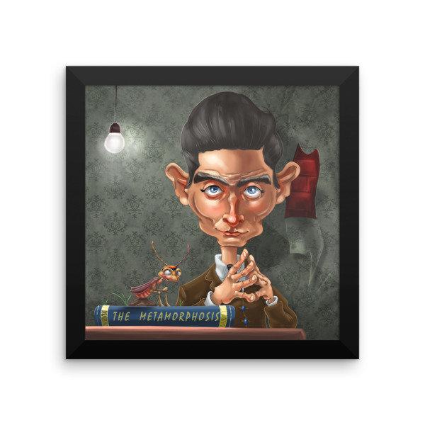 Franz Kafka Framed poster