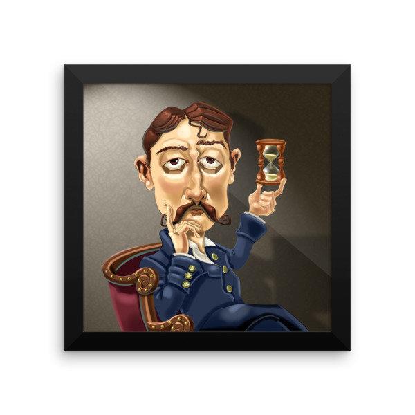 Marcel Proust Framed poster