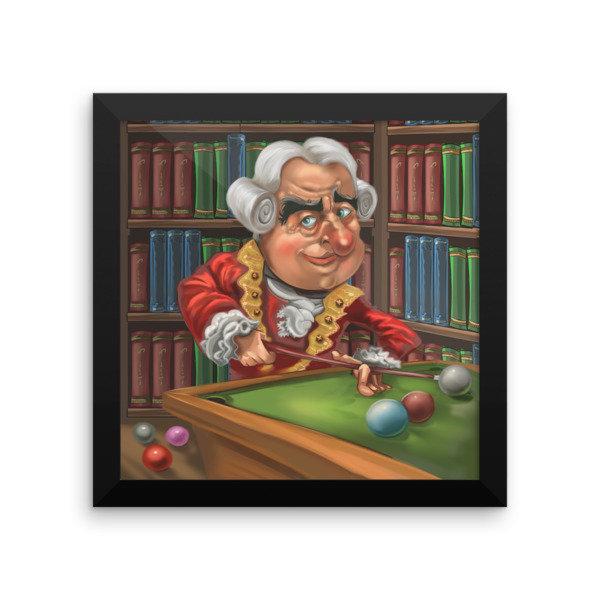 David Hume Framed poster
