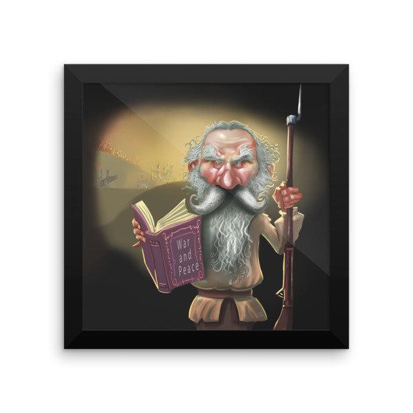 Leo Tolstoy Framed poster