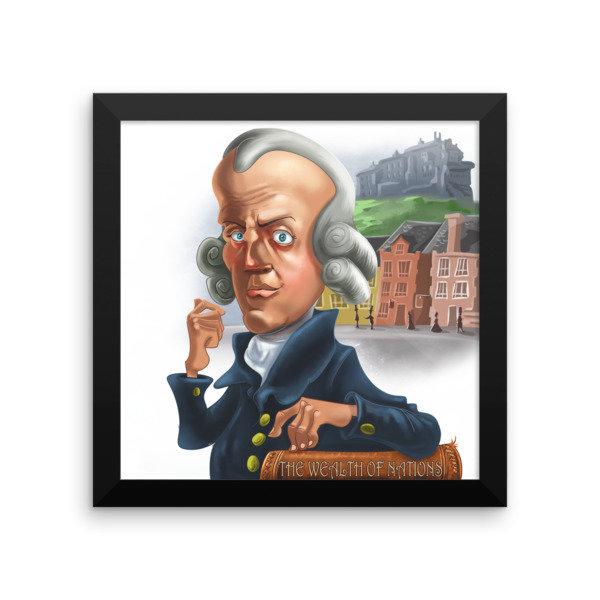 Adam Smith Framed poster
