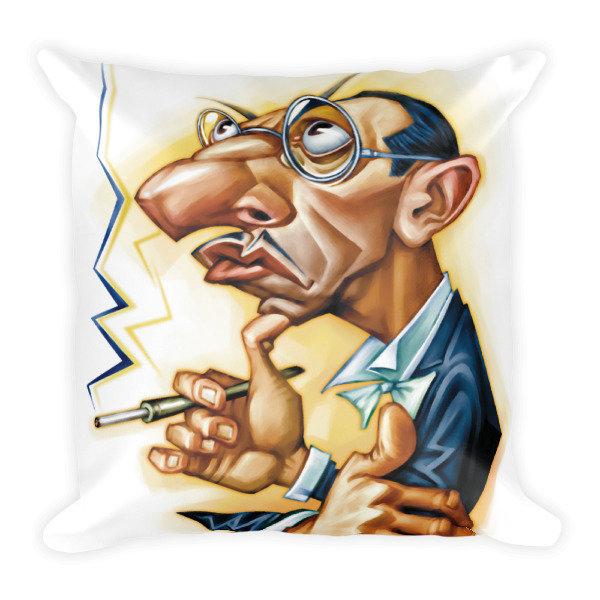 Igor Stravinsky Square Pillow