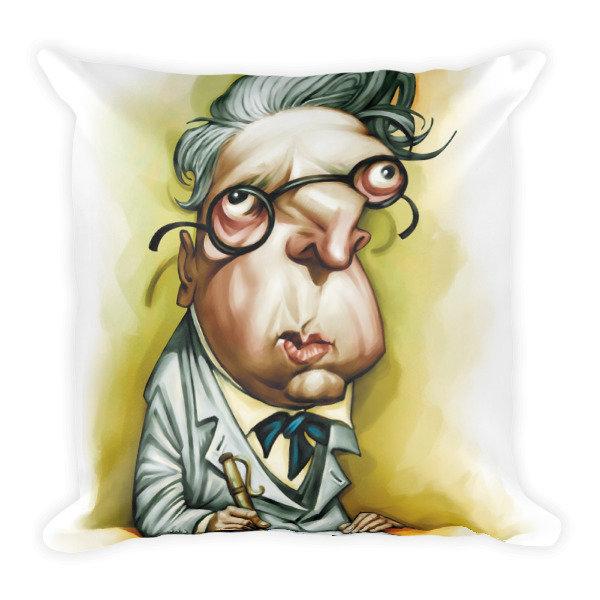 W.B. Yeats Square Pillow