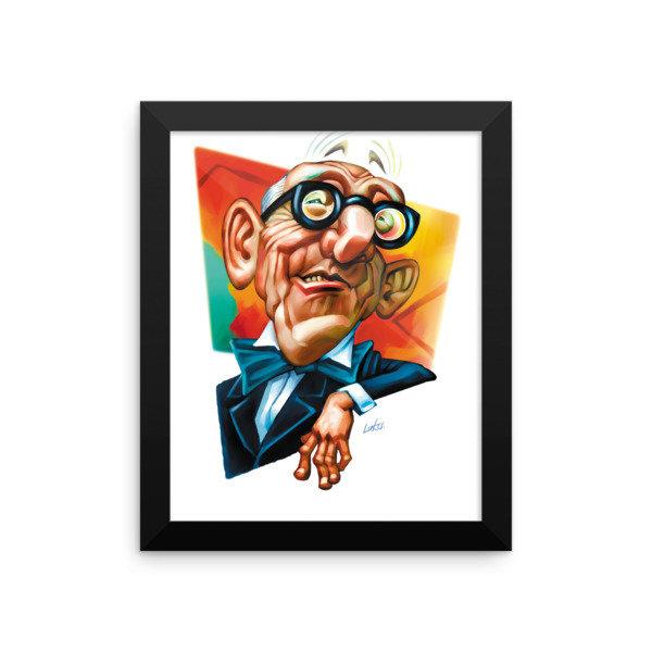 Le Corbusier Framed poster