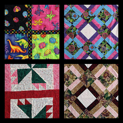Reiki infused lap quilts