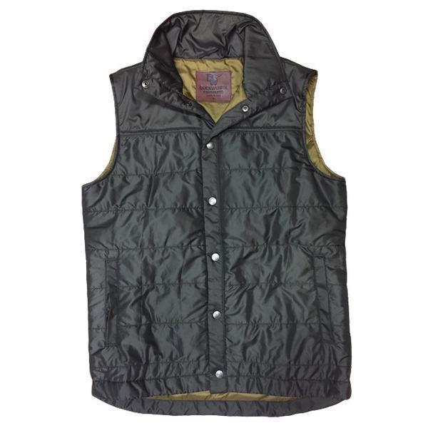 Mens Woolcloud Vest. Olive.