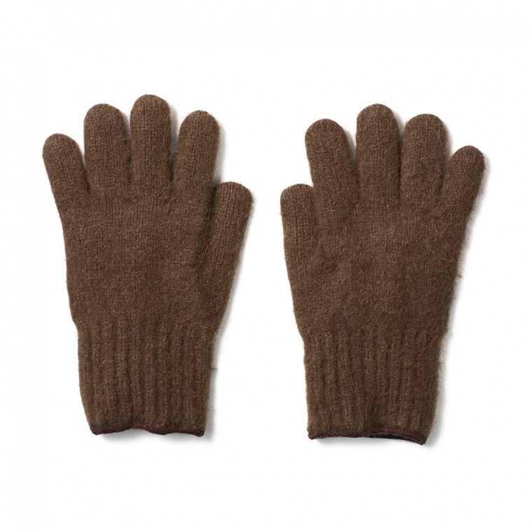 Bison Down Gloves. Fill Fingered