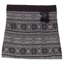 Eva Wool Skirt with stretch fabric lining