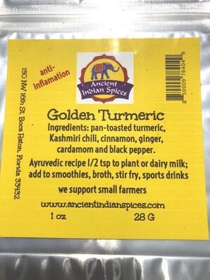 GOLDEN TURMERIC 2 OZ.