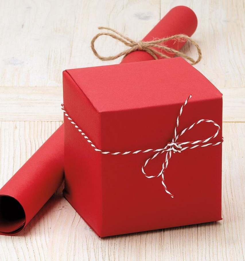Gift wrapping with your purchase