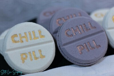 Champagne Chill Pill Bath Bomb