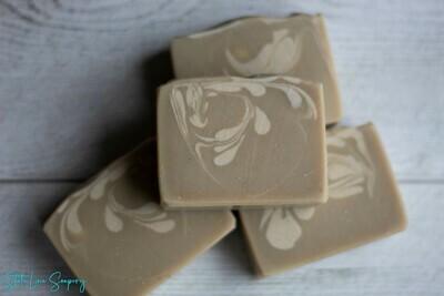 Cedarwood & Spearmint Cold Process Soap