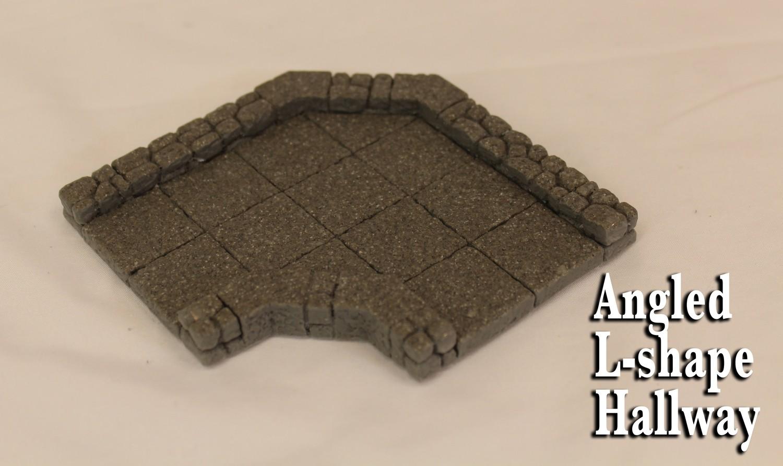 Angled L-shape Hallway