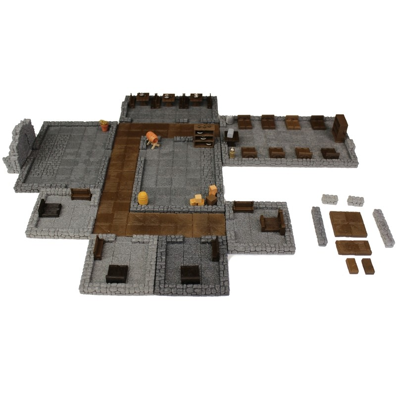 Small Modular Magnetic Tavern 2.5D
