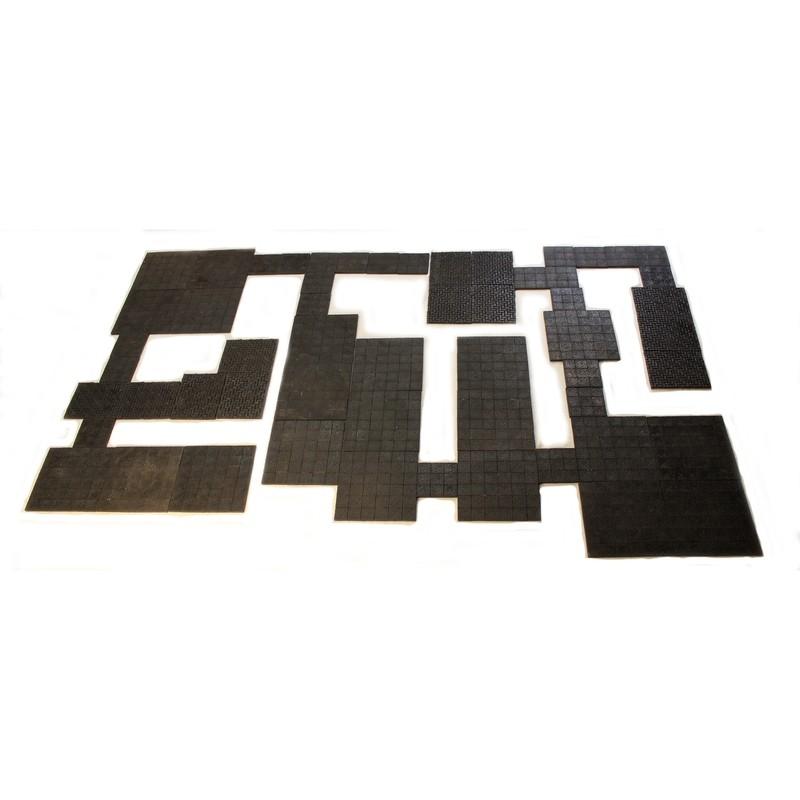 Black Onyx Resin Dungeon Tiles
