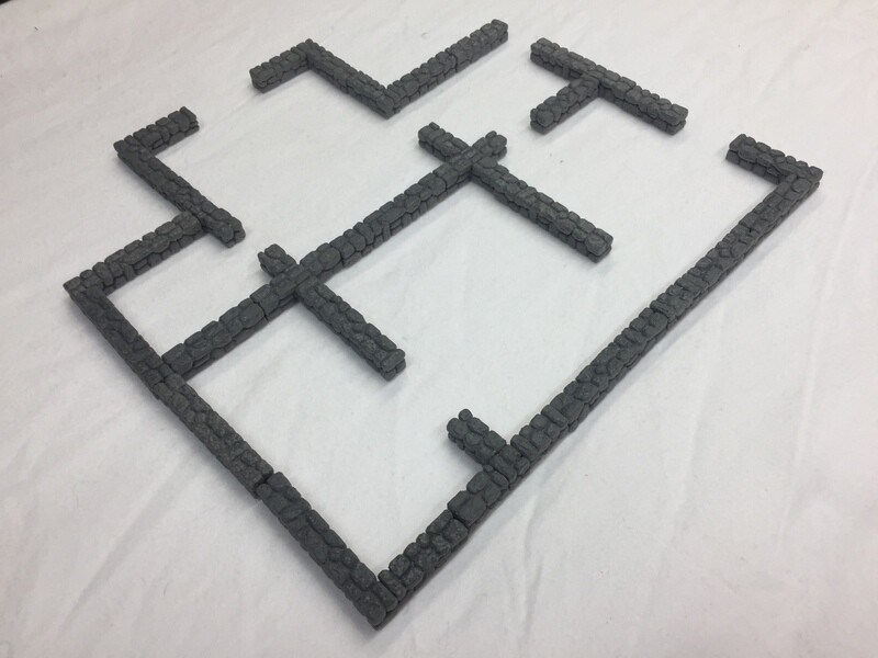 Non-Magnetic Wall Blocks