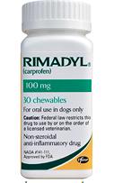 Rimadyl Chewables [Carprofen] 75mg/180 ct