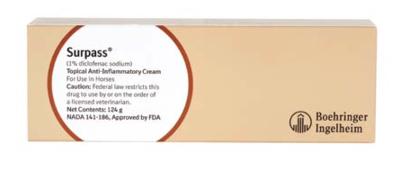 Surpass Topical Cream [1% Diclofenac Sodium] 124gm Tube