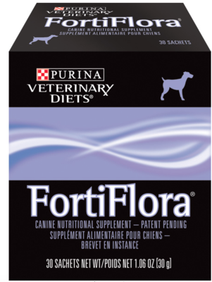 Canine FortiFlora - 1 Box of 30 Packets