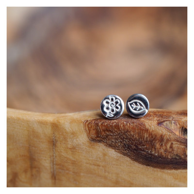 Design Your Own Sterling Silver Earrings *PAIR*