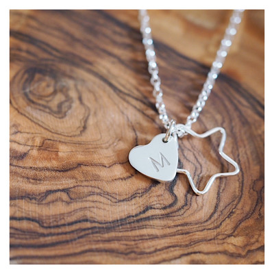 Design Your Own Personalised Necklace - HEARTS