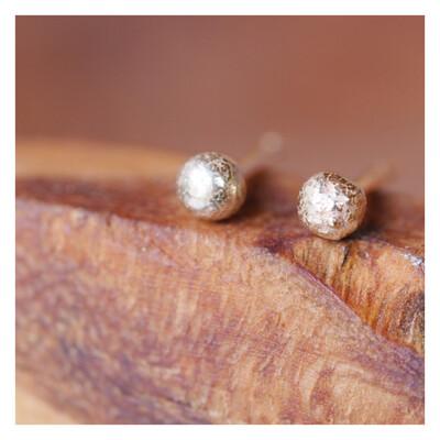 9ct Gold Ball Earrings