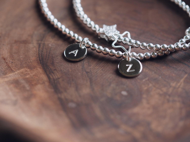 DYO Adults Sterling Silver Beaded Bracelet