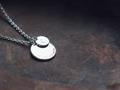 Design Your Own Personalised Necklace - MIDI & MINI DISCS