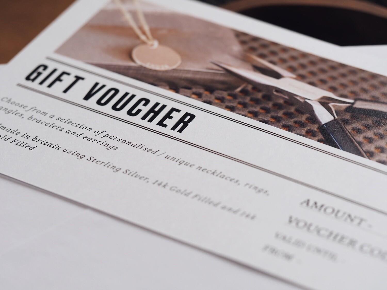 Gift Voucher (£10-£60)