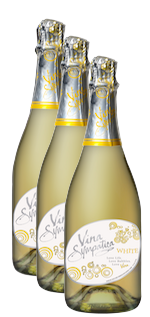 Vina Sympatica Sparkling White - 3 Bottles