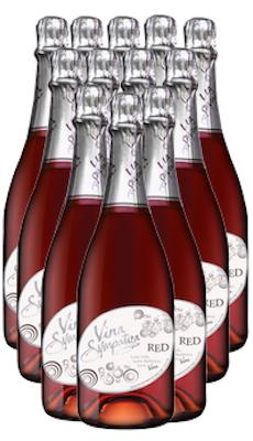 Vina Sympatica Sparkling Red - 12 Bottles
