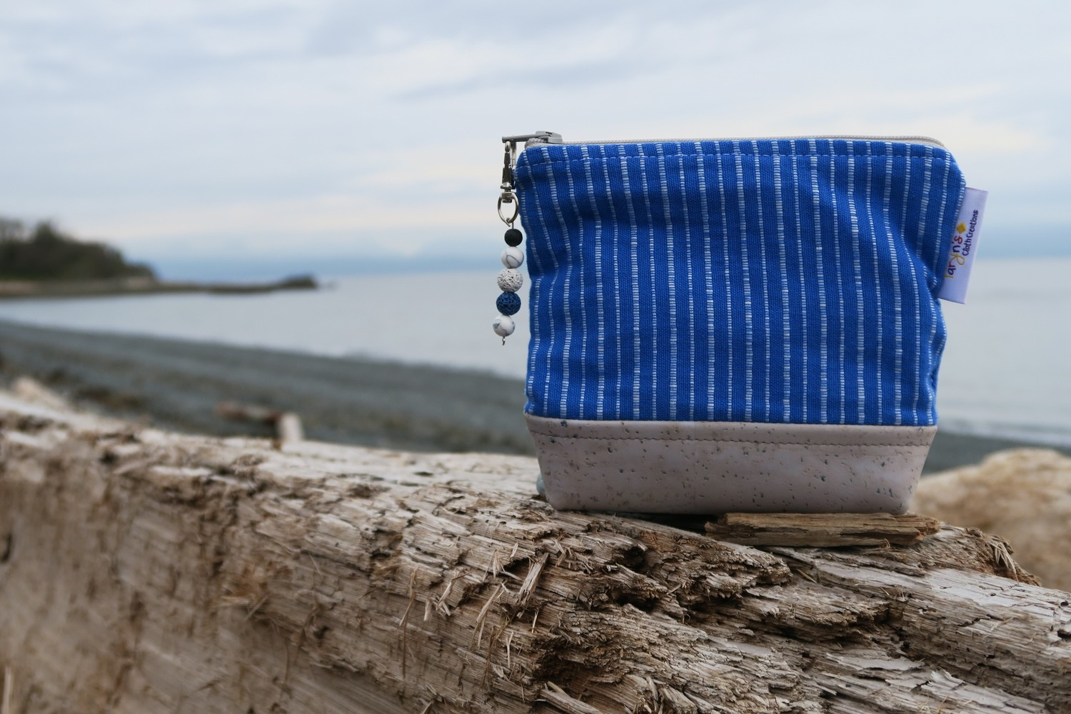 Small Carry Case -Blue Mariner's Cloth
