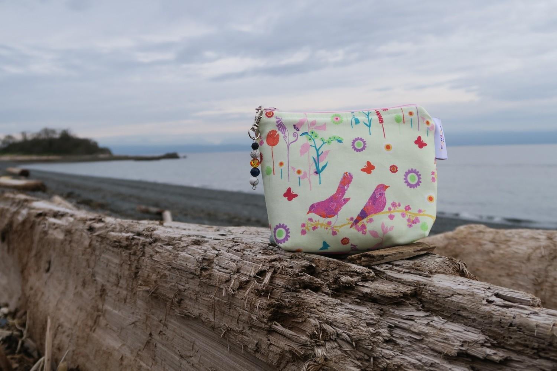 Small Fabric Essential Oil Cases -Birds