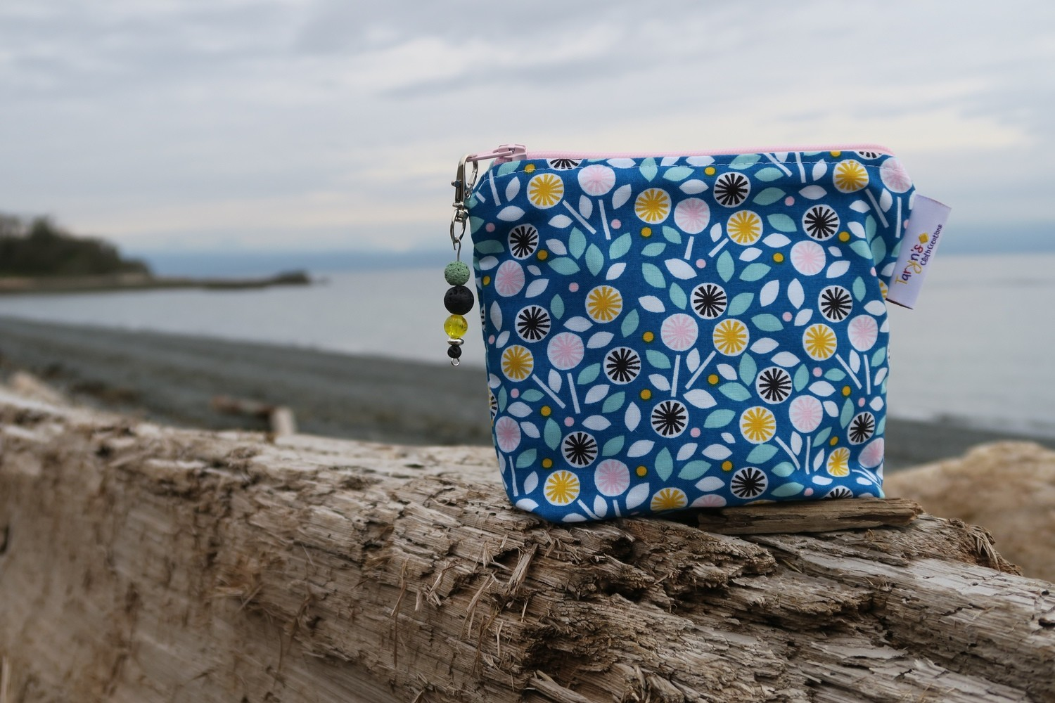 Small Fabric Essential Oil Case -Mini Flowers