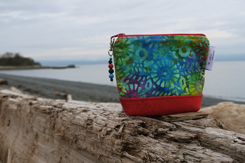 Small Carry Case -multi colour batik