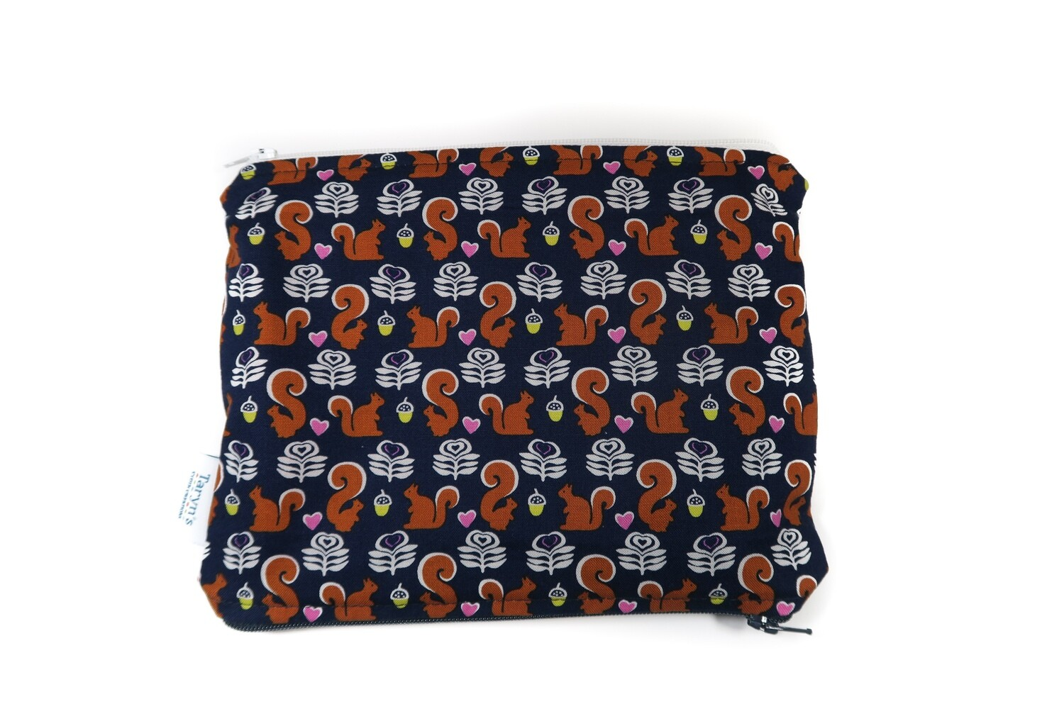 Small Double-sided Wet/dry Bag -Squirrels