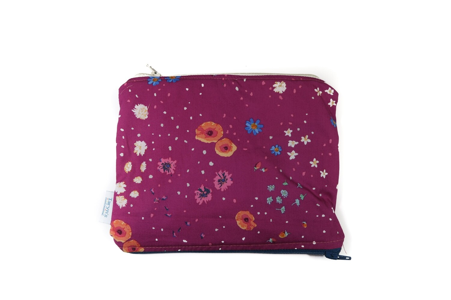 Small Double-sided Wet/dry Bag -Pink Floral
